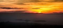 Coucher de Soleil sur le Canigou depuis le Plan de l'Aigle 09 02 2019 (bruno Carrias) Tags: canigou garlaban aubagne provence provencealpescôtedazur bouchesdurhône sunset soleil pyrénéesorientales