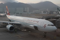 Cathay Dragon (So Cal Metro) Tags: airline airliner airplane aircraft plane jet aviation airport hongkong hkg cathaydragon dragonair airbus a330