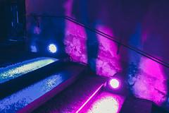 Shadows of the Queue (Bephep2010) Tags: 2019 35mmf14dghsmart 7markiii alpha festival ilce7m3 lichter lilu lucerne luzern schatten schweiz sigma sony switzerland treppe warteschlange winter blau blue light pink queue rosa shadow stairs ⍺7iii kantonluzern ch