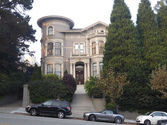 San Francisco, CA Western Addition house (army.arch) Tags: sanfrancisco california ca victorian victorians house baywindow turret tower