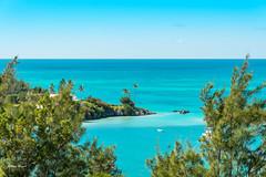 Bermuda (Uwe Weigel) Tags: bucht strand tree beach ocean sea sun landscape travel travelphotography landscapephotography blue photographer palm sky earth world nice water wave himmel blau welt