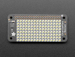 Adafruit CharliePlex LED Matrix Bonnet - 8x16 Warm White LEDs (adafruit) Tags: 4122 accessories newproducts boards charlieplex led matrix bonnet warmwhite adafruit diy diyelectronics diyprojects electronics ledmatrix matrixbonnet