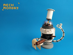 Mech Monday #7: Bob Cook (Marin Stipkovic) Tags: lego moc myowncreation mech mecha drone robot monday custommodel cooking chef assistant