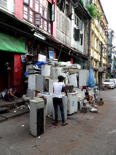 Whitegoods in Yangon