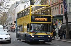 Dublin Bus AV347 (03D50347). (Fred Dean Jnr) Tags: dublinbusyellowbluelivery busathacliath dublinbus dublinbusroute61 dbrook volvo b7tl alexander alx400 av347 03d50347 dawsonstreetdublin november2013 dublin
