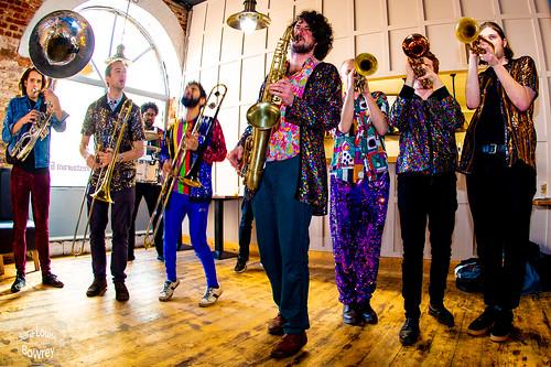 Saturday Unplugged: Brass Funkeys