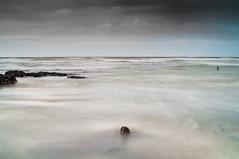 Lost in a Drift (Trev Packer Photography) Tags: sea drift seawater rocks pools fishing ocean channel water waves longexposure