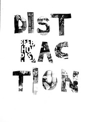 found in the news (Ines Seidel) Tags: newspaper news distraction words truth illustration zeitung information wörter