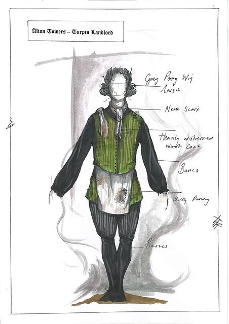 Dungeon Costume Drawings - Innkeeper
