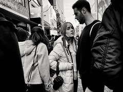Tokyo Street (-Faisal Aljunied - !!) Tags: faisalaljunied streetphotography eyecontact tokyo japan blackandwhite