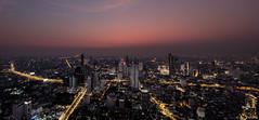 Bang Rak - Bangkok (Phil Bandow) Tags: bang rak bangkok thailand 2019 maha nakhon tower skyscraper sunset citylights