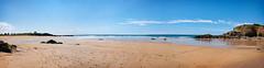 la plage de Bellangenêt, Le Pouldu, en panorama... (.Sophie C.) Tags: cloharscarnoët lepouldu 29 finistère breizh bretagne plagedebellangenet plage littoral côte mer sable panorama