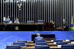 Plenário do Senado (Senado Federal) Tags: bandeiranacional plenário senadoralvarodiaspodepr senadorjorgekajurupsbgo sessãonãodeliberativa brasília df brasil bra