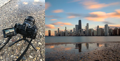 Chicago March Skyline (FotodioxPro) Tags: minitabletoptripod minitripod chicago skyline city buildings landscapephotography illinois lakemichigan sky clouds longexposure longexposurephotography fotodiox fotodioxpro olympusem1markii olympus olympusem1 olympusm1240mmf28 motionblur cloudmovement johnhancockcenter cameragear ndfilter cityscape