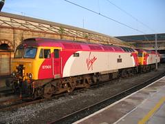 57303 57308 Crewe 3.9.05 (Flikrman Gaz) Tags: virgin class57