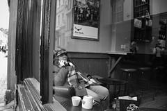 Corner Seat (Bury Gardener) Tags: burystedmunds bw blackandwhite britain monochrome mono england eastanglia uk people peoplewatching folks nikond7200 nikon suffolk streetphotography street streetcandids snaps strangers candid candids 2019