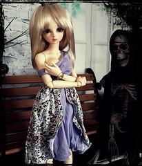 (claudine6677) Tags: bjd msd ball jointed doll asian dolls mnf minifee fairyland rin skeleton reaper