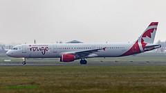 CGHPD A321 Air Canada Rouge (Anhedral) Tags: cghpd airbusindustrie a321 a321200 aircanadarouge airliner einn snn shannonairport 5681