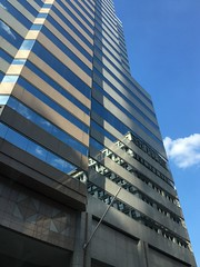 Baltimore MD ~ flyby windows (karma (Karen)) Tags: baltimore maryland downtown buildings windows reflections hww iphone cmwd topf25