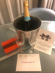 A special gift for us from the Dolphin Hotel in Disney World (Hazboy) Tags: hazboy hazboy1 florida dolphin hotel disney world september 2018 chocolate champagne