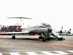 Aeroflot                                     Tupolev TU-134                                           RA-65788 (Flame1958) Tags: aeroflot aeroflottu134 tupolev tu134 ra65788 dub eidw dublinairport 110392 0392 1992 scan print