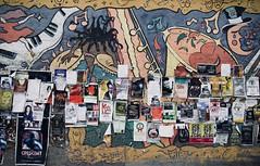 Mur culturel (AlainC3) Tags: mur wall winnipeg manitoba canadas publicité adsadvertising affiche artderue streetart murale