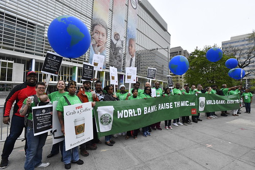 Raise The MIC World Bank Protest 2019