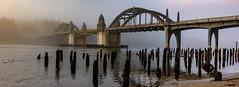 SiBriPano (Ranbo (Randy Baumhover)) Tags: oregon oregoncoast pacificocean florenceoregon florence siuslaw panorama bridge