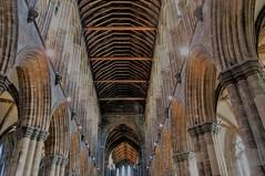 Unusual anniversary (Wider World) Tags: glasgow cathedral scotland citycentre stmungo kentigern nave gothic churchofscotland mediaeval arches