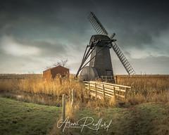 Herringfleet Windmill (Aron Radford Photography) Tags: herringfleet suffolk norfolk wind mill windmill broads marsh water pump sad disused old rural charm