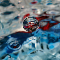 Nevena Uzurov - Landing (Nevena Uzurov) Tags: splash droplet water macro lightcatcher nevenauzurov d serbia