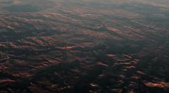 Evening Sun on the Canyon Rims (zeesstof) Tags: geo:lat=3494438536 geo:lon=10128603659 geotagged zeesstof vacation flight aerial commercialflight unitedairlines amarillotohouston amatoiah aerialview windowseat texas