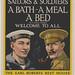 A bath, a meal and a bed for travelling sailors and soldiers in London, England / Un bain, un repas et un lit pour les matelots et les soldats à Londres (Angleterre)
