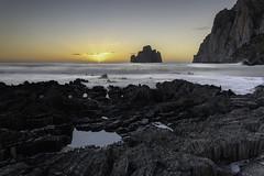 DSC_1311.112 (paolacincotti) Tags: masua pandizucchero scogliera acqua mare tramonto sunset water sardegna iglesias faraglione sea panorama