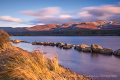 Loch Morlich Sunset (www.facebook.com/PaulSmithWildlife) Tags: loch water sunset landscape dusk mountains nature scotland cairngorms winter springwatch