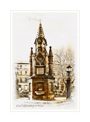 The Thomas Thompson Memorial Fountain, Belfast, (Oul Gundog) Tags: victorian architecture uk ireland northern store department belfast cleaver robinson monument fountain charity famine church churches anglican buildings history baths ormeau