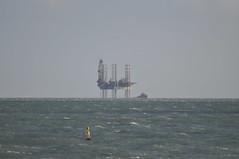 oil rig (auroradawn61) Tags: bournemouth dorset uk england march 2019 breezy tamron nikon bournemouthpier ship sea oilrig