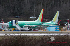 7493 737-8 Shenzhen Airlines (737 MAX Production) Tags: b737 boeing737max boeing boeing737 boeing7378 boeing7378max 74937378shenzhenairlines