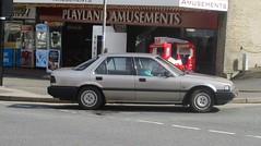 1989 Honda Accord EX (occama) Tags: f912xcv 1990 honda accord ex old car cornwall uk brown japanese