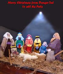 DT Nativity Christmas Card (g crawford) Tags: danger ted dangerted teds teddy teddies toys nativity nativityscene knitting knitted wkpc westkilbride ayrshire northayrshire toy bear bears stable westkilbrideparishchurch parishchurch parish church