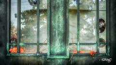 Mausoleum Door (dougkuony) Tags: hdr holysepulcrecemetery cemetery door holysepulcre mausoleum