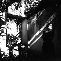 M. (denzzz) Tags: portrait blackwhite blackandwhite skancheli norita66 noritar55mm washis washifilm 6x6 urbex analogphotography filmphotography abandoned beautifuldecay