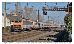 BB26165 EC90 - Mulhouse (CC72080) Tags: bb26100 eurocity vauban train sncf sncb personenzug zug treno locomotive lokomotive locomotiva mulhouse sybic