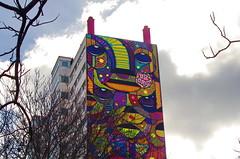221 Paris en Mars 2019 - à l'entrée du Parc Georges Brassens (paspog) Tags: paris france fresque mural murals fresques streetart parcgeorgesbrassens mars march märz 2019