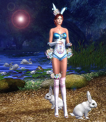 LuceMia - irrISIStible at Swank Event (2018 SAFAS AWARD WINNER - Favorite Blogger - MISS ) Tags: swankevent irrisistible fantasy easter eastercandybunnymeshoutfith sl secondlife mesh fashion creations blog beauty hud colors models lucemia