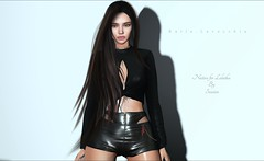 Soon at eBento (Katia Lavecchia) Tags: ricielli short brunette longhair leather