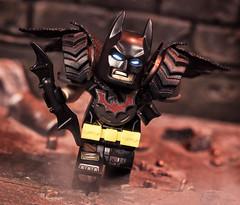Wasteland Batman (Jezbags) Tags: wasteland batman dc dclego legodc legomovie2 lego legos toy toys macro macrophotography macrodreams macrolego minifigure minifigures canon canon80d 80d 100mm legomovie