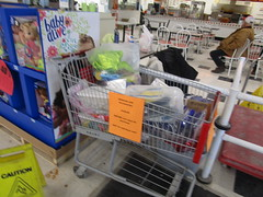 The Cart of Stuff that Must be Bought Together (Random Retail) Tags: kmart store retail 2019 wellsville ny storeclosing