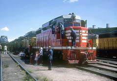 CB&Q GP30 943 (Chuck Zeiler48Q) Tags: cbq gp30 943 burlington railroad emd locomotive cheyenne train chz people cgi