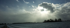 (joeldinda) Tags: nikon 1v2 nikon1v2 v2 2019 michigan eatoncounty roxandtownship roxana winter weather snow sky cloud woodlot fields plowed 4405 january